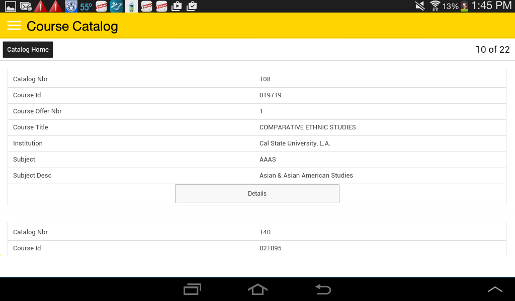 Cal State LA - GETmobile App Ranking and Store Data   App Annie