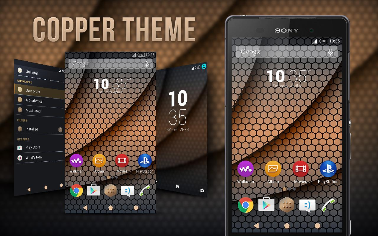 Copper for Xperia™ App Ranking and Store Data | App Annie