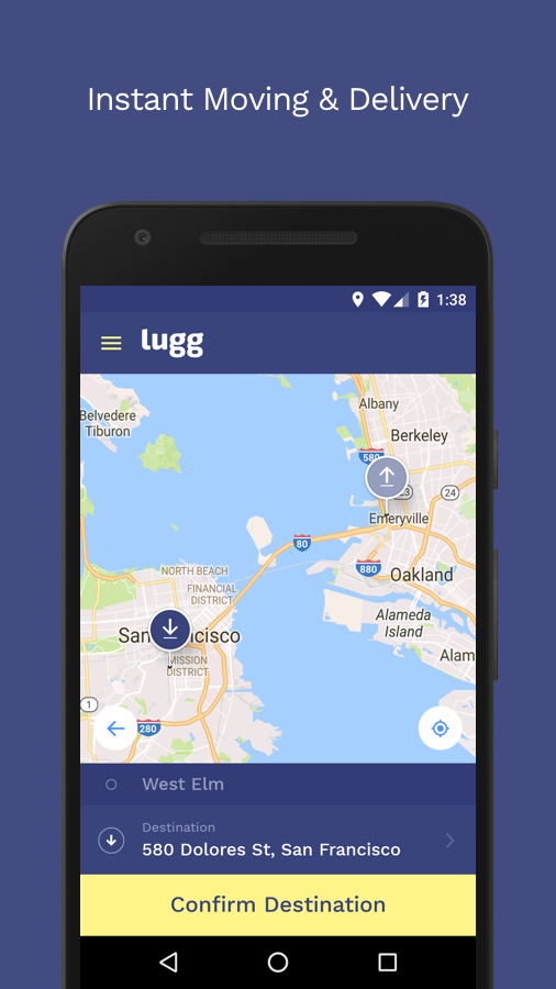 Lugg - Moving & Delivery App Ranking and Store Data   App Annie