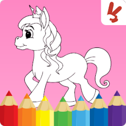 Unicorn coloring pages : Easy drawing for kids アプリランキングと ...