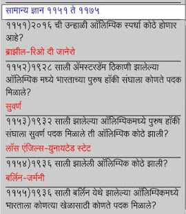 General Knowledge in Marathi 2 App Ranking and Store Data