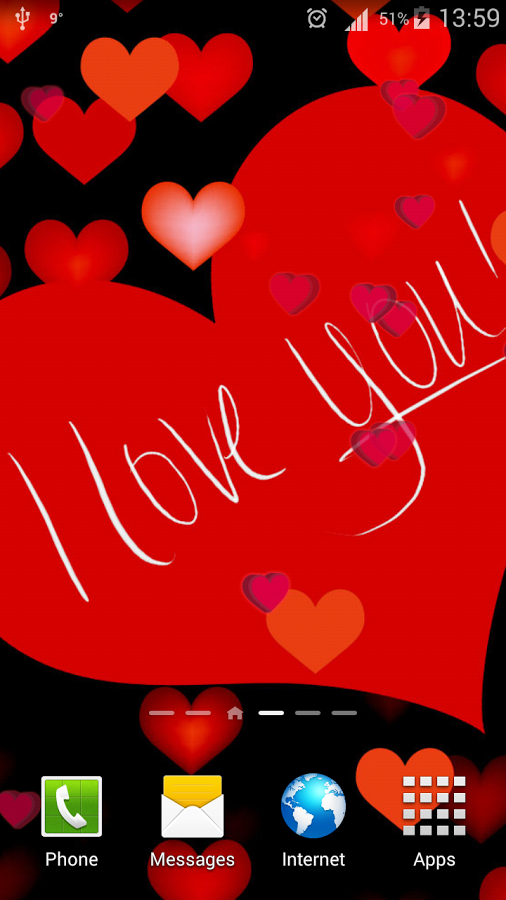 I Love You Live Wallpaper Hd App Ranking And Store Data App Annie