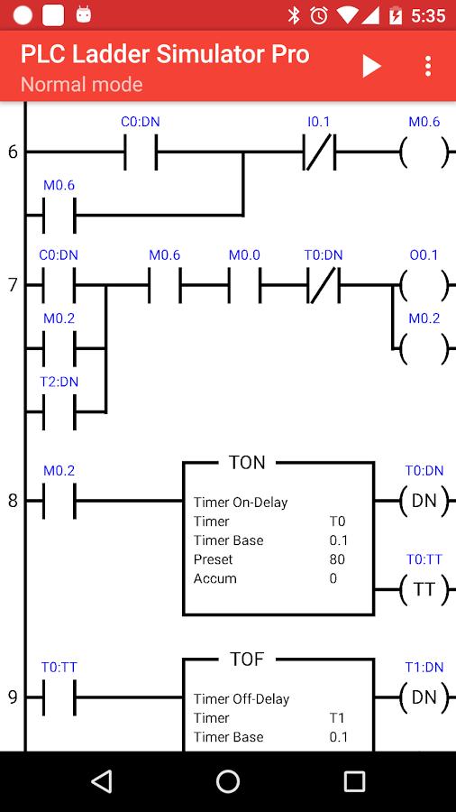 Traffic Light Ladder Diagram