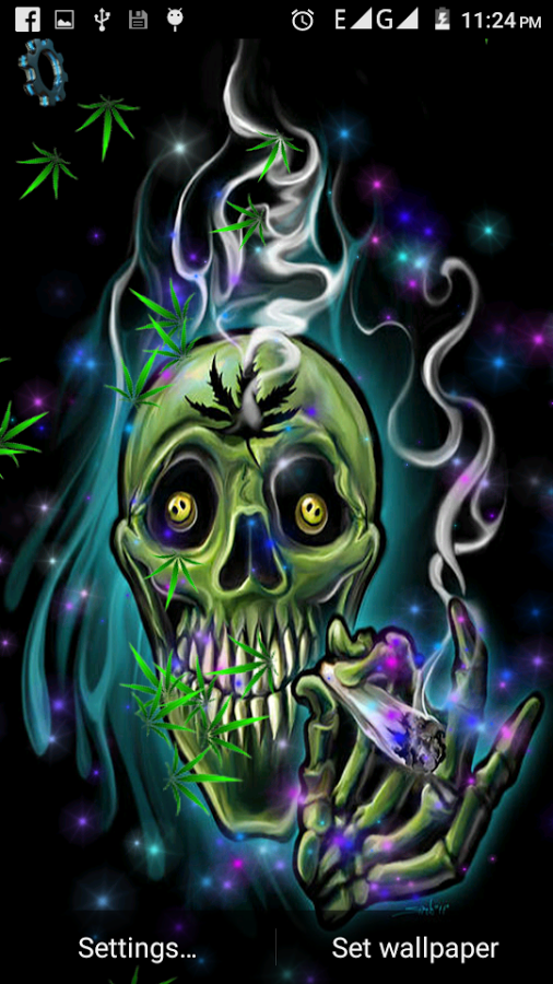 Skull Weed Live Wallpaper App Ranking And Store Data