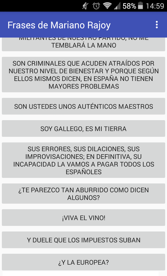 Frases De Mariano Rajoy App Ranking And Store Data App Annie