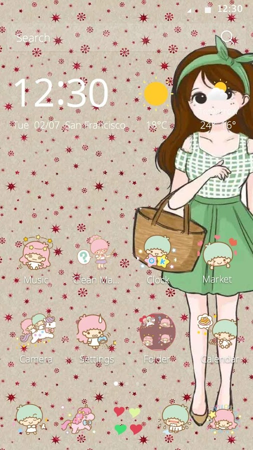 cute girl theme app ranking and store data app annie