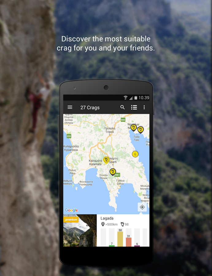 27 Crags - Rock Climbing App App Ranking and Store Data | App Annie