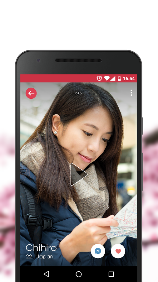 Japanese virtual dating app