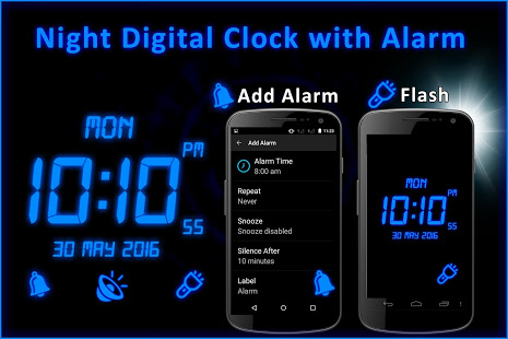 Night Digital Clock With Alarm App Ranking and Store Data