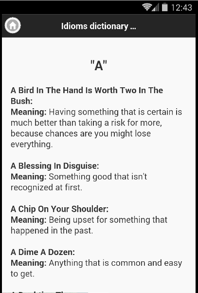Idioms Phrases With Meaning App Ranking And Store Data App Annie