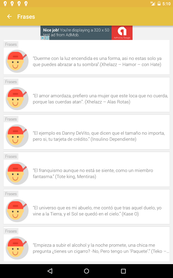 Frases De Rap App Ranking And Store Data App Annie