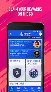 EA SPORTS™ FIFA 19 Companion App Ranking and Store Data | App Annie
