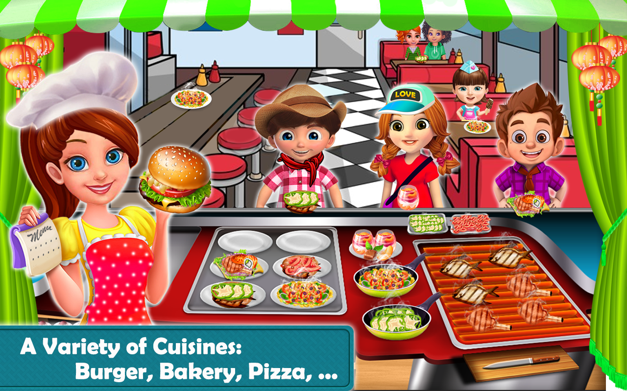 Image result for Food Street - Restaurant Management and Cooking Game