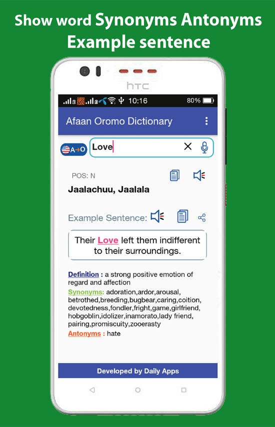 Afaan Oromo Dictionary Offline App Ranking and Store Data   App Annie