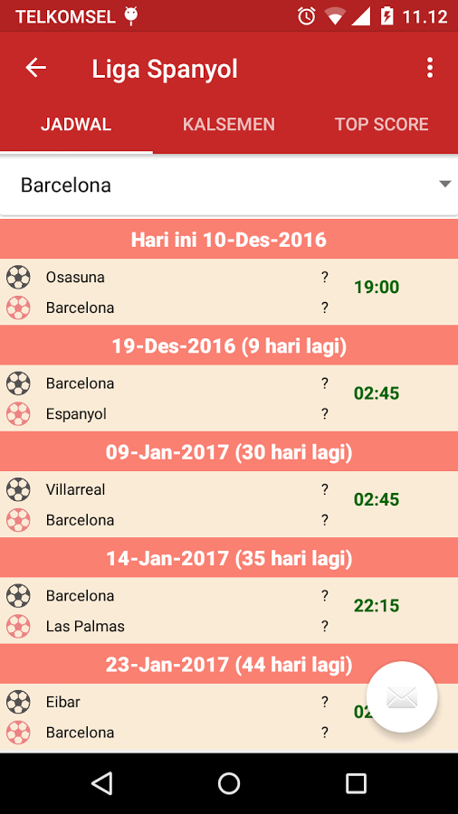 Jadwal bola 2018 app ranking and store data app annie app description jadwal bola reheart Images