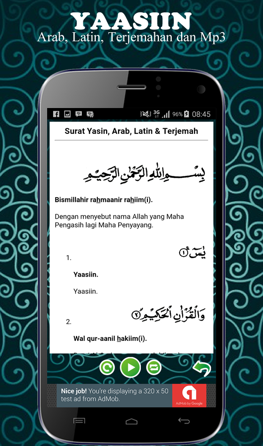 Surat Yasin Mp3 Dan Tahlil App Ranking And Store Data App