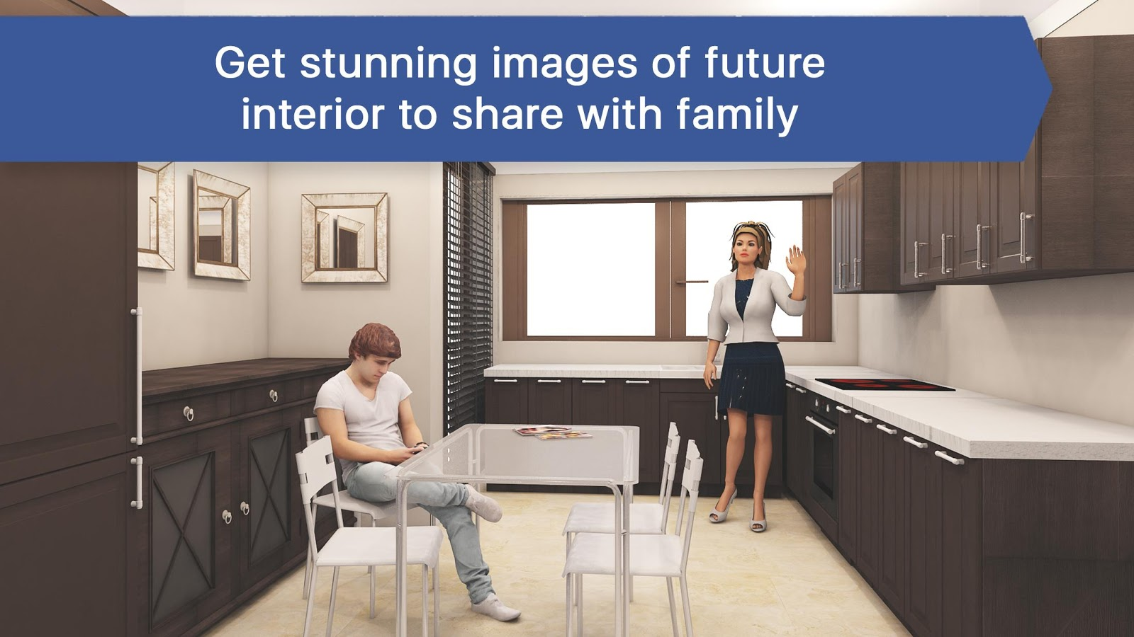 3D Kitchen Design for IKEA: Room Interior Planner App Ranking and ...