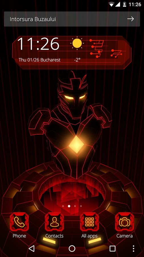 Red Iron Hero 3D Theme App Ranking and Store Data | App Annie