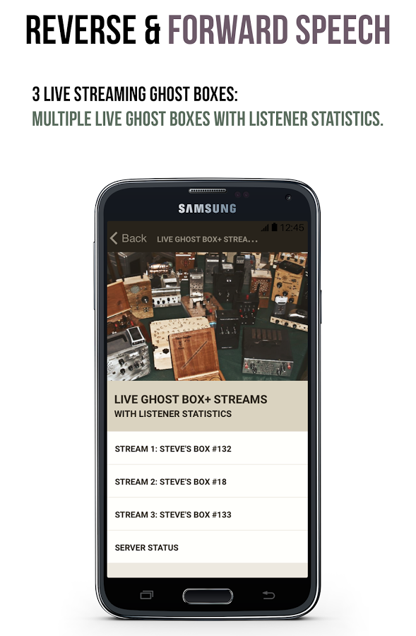 Live Ghost Box Plus App Ranking and Store Data | App Annie