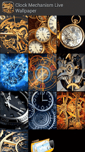 Clock Mechanism Live Wallpaper App Ranking And Store Data App Annie