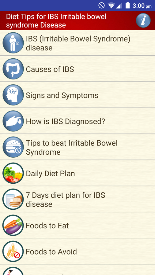 Bowel Stomach Pain & IBS Diet stomach indigestion App