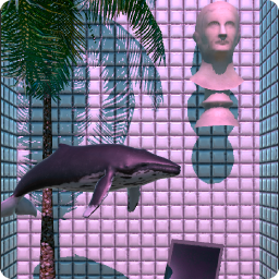 Vaporwave n aesthetic live wallpaper