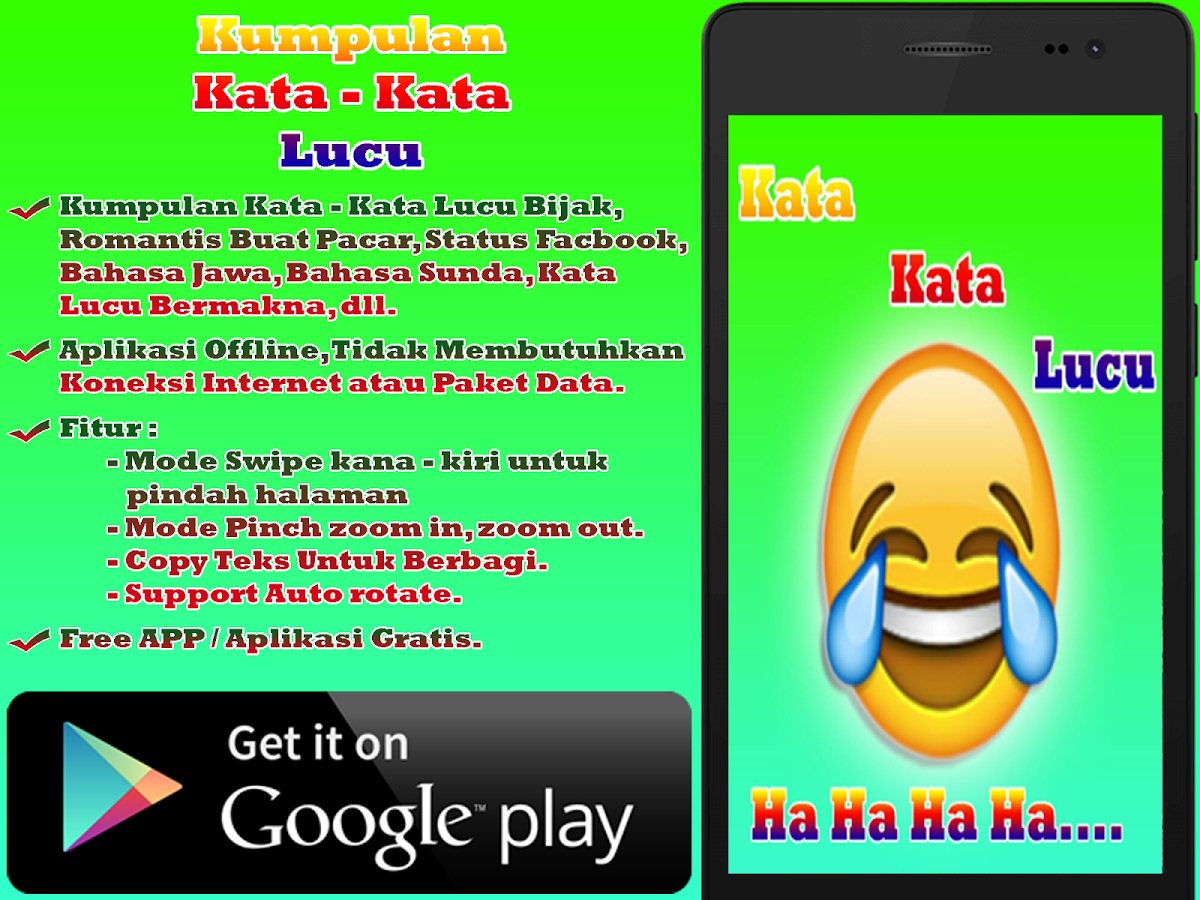 Kata Kata Lucu App Ranking And Store Data App Annie