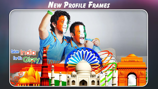 Independence Day Photo Frame : Photo editor 15 Aug App