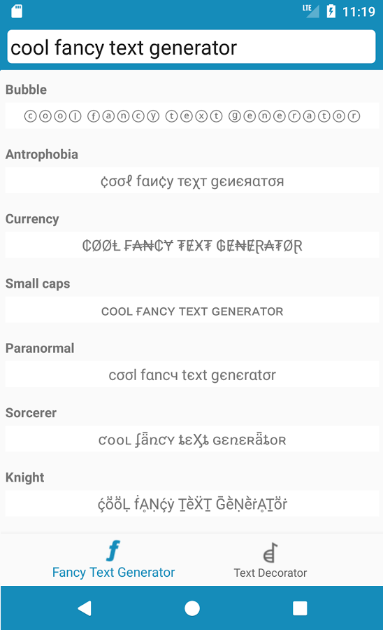 Cool Fancy Text Generator Stylish Text Fonts App Ranking And Store