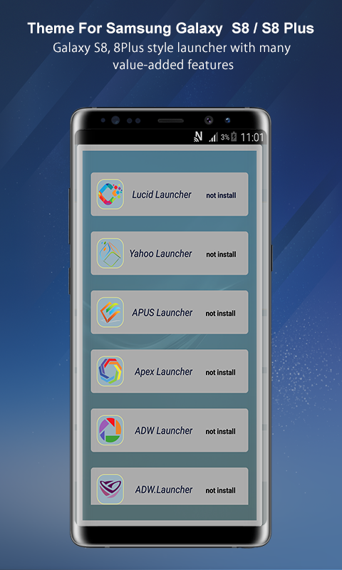 Theme Launcher For Galaxy A8 App Ranking and Store Data