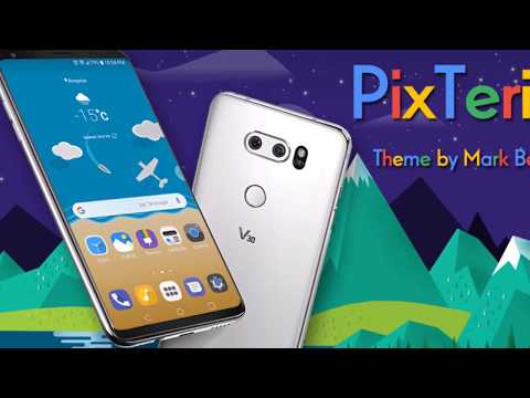 PixTerial Theme for LG V30 & LG G6 App Ranking and Store Data | App Annie