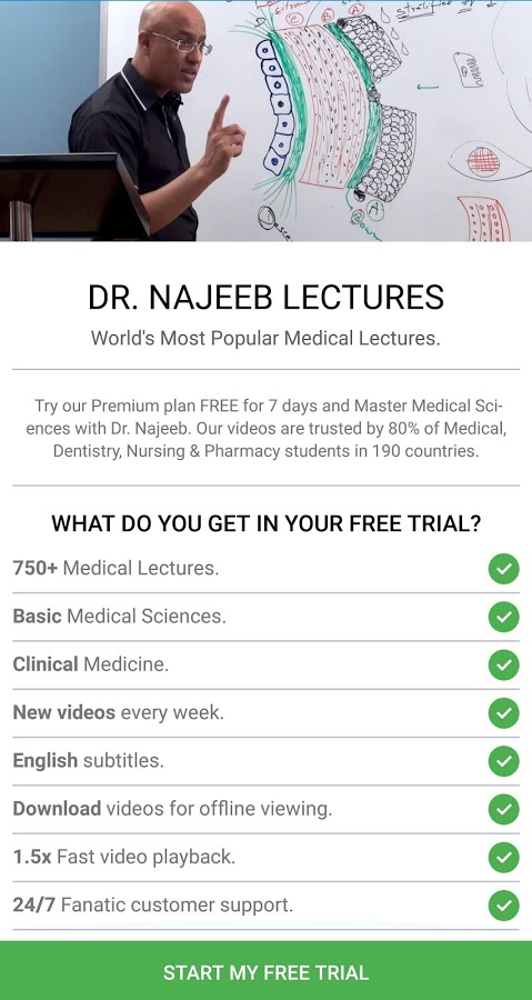 Dr. Najeeb Lectures App Ranking and Store Data | App Annie
