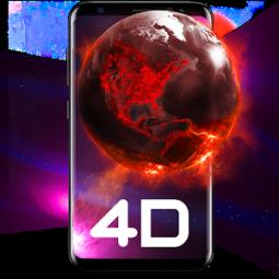 Live Wallpapers HD/3D AMOLED Backgrounds--Pixel 4D