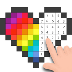Pixel - Color by Number & Pixel Art Coloring Pages App ...