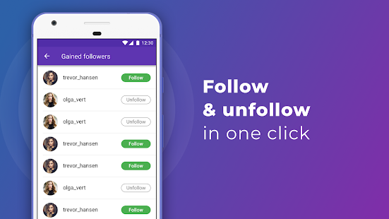 iUnfollowed: followers & unfollowers analytics App Ranking