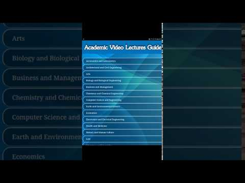 Academic Video Lectures Guide App Ranking and Store Data | App Annie