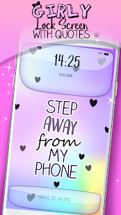 Girly Lock Screen With Quotes App Ranking And Store Data