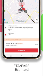 ORide(OPay, OFood):ride,food,payment and much more App Ranking and