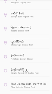 TTA SAM Myanmar Font 8 App Ranking and Store Data | App Annie