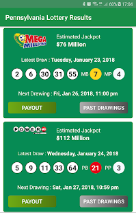 Pennsylvania Lottery Results App Ranking and Store Data