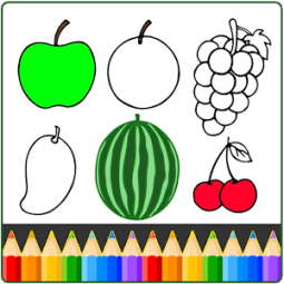 Fruits And Vegetables Coloring Game For Kids App Ranking And