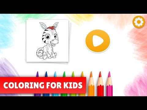 Little Picasso Kids coloring pages 🐴🦄🎨 App Ranking and ...