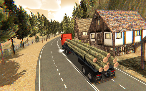 Cargo Delivery Truck Parking Simulator Games 2018 App