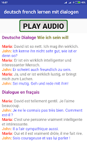 learn German French with A1 A2 dialogues App Ranking and