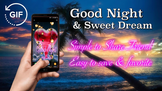 Gif Good Night & Sweet Dream Wishes Love App Ranking and