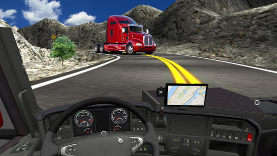 Off Road Cargo Truck Driver: Uphill Truck Driving App