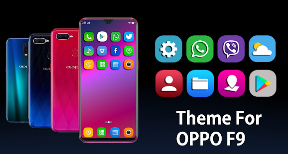 Launcher & theme for oppo F9 2019 wallpaper, Theme App Ranking and