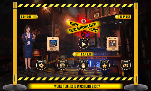 Crime Detective Story Hidden Object App Ranking and Store Data | App