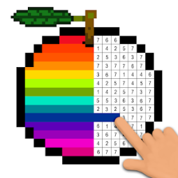 Pixel Art Coloring Book Tap Color By Number App Ranking