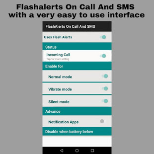 Flash on Call & SMS:Brightest Torch LED Flashlight App Ranking and